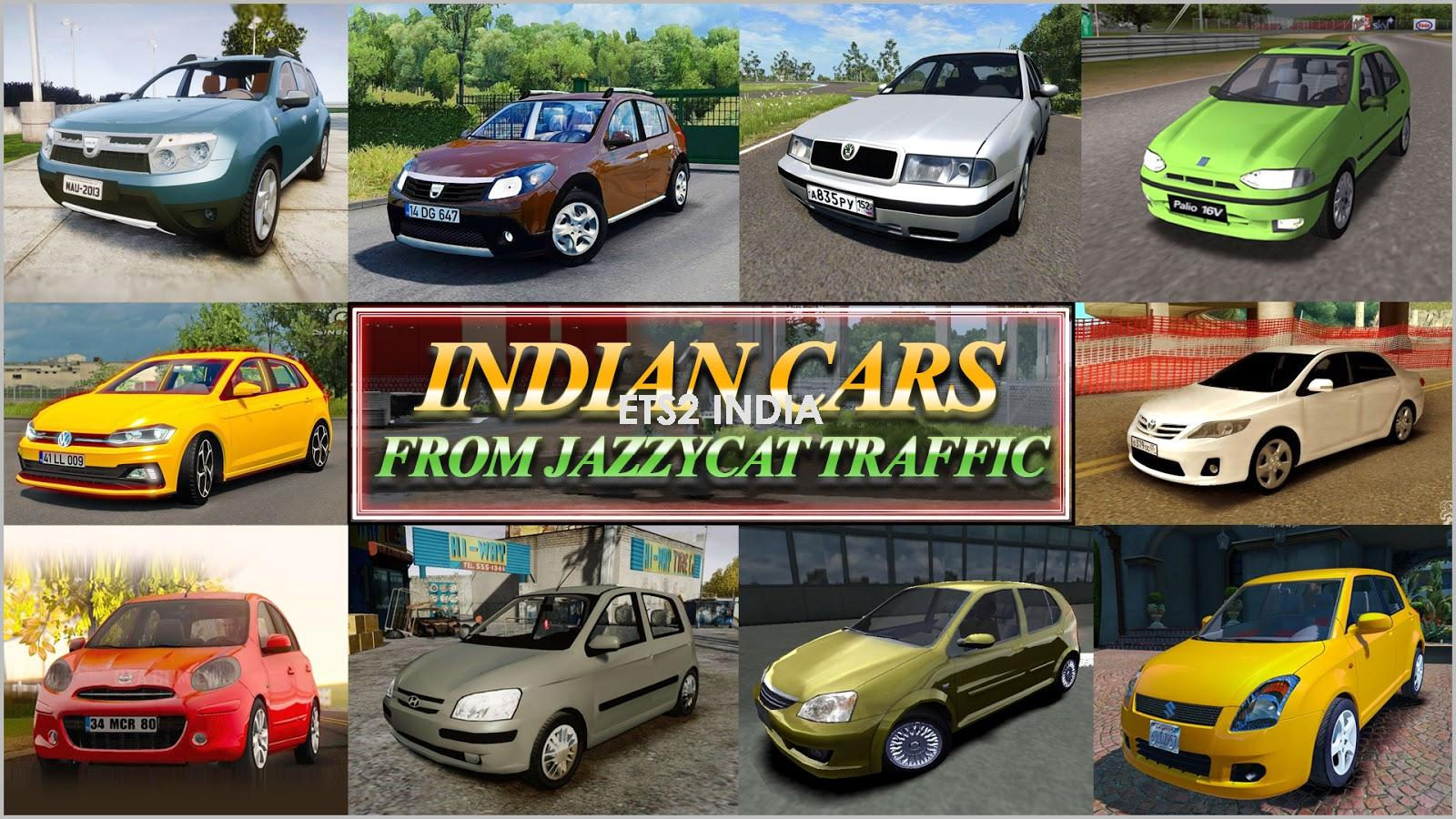 Indian Cars Traffic Pack Jazzycat [1.30-1.31]