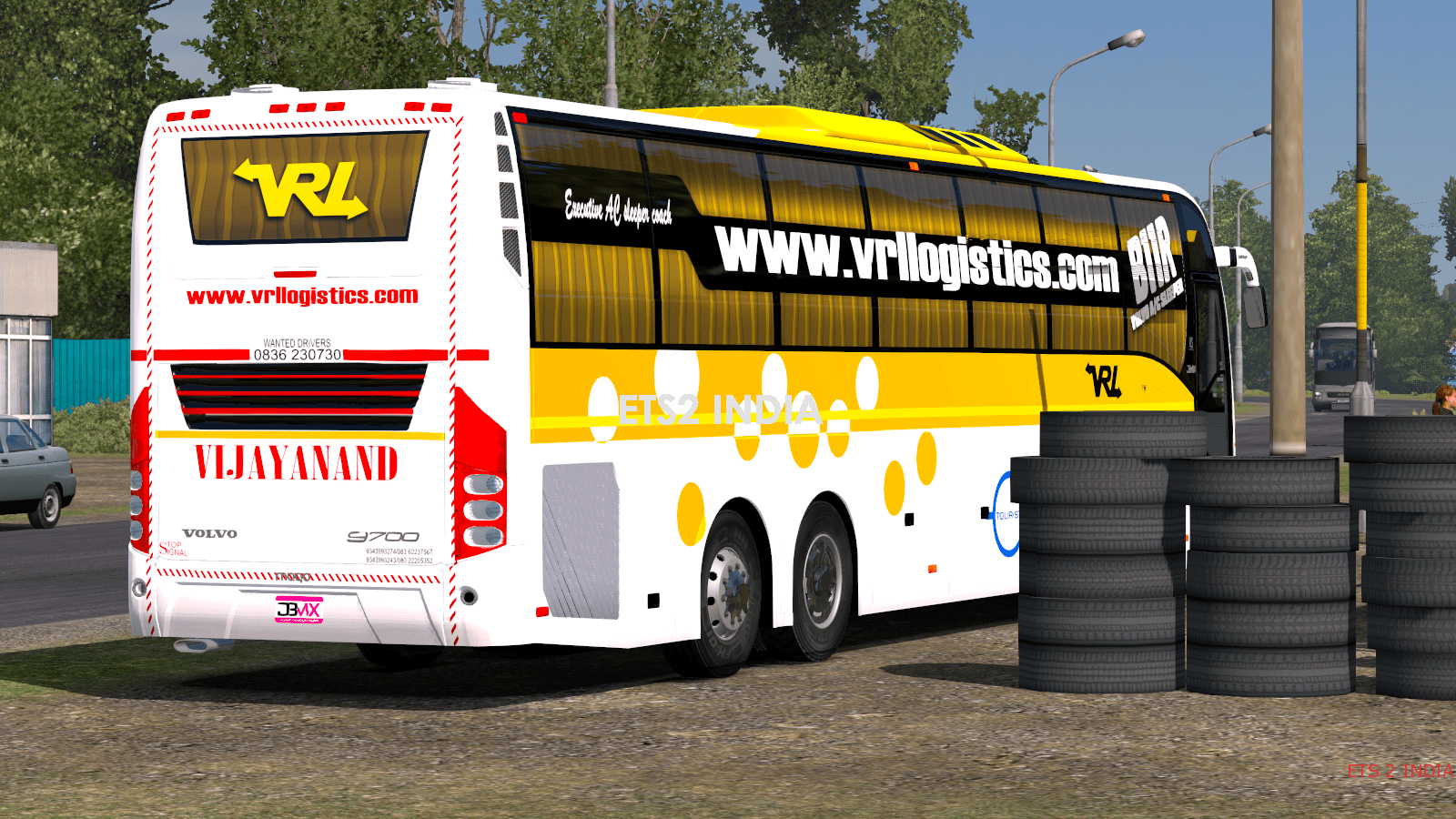 VRL VOLVO SLEEPER SKIN GRAND/PX