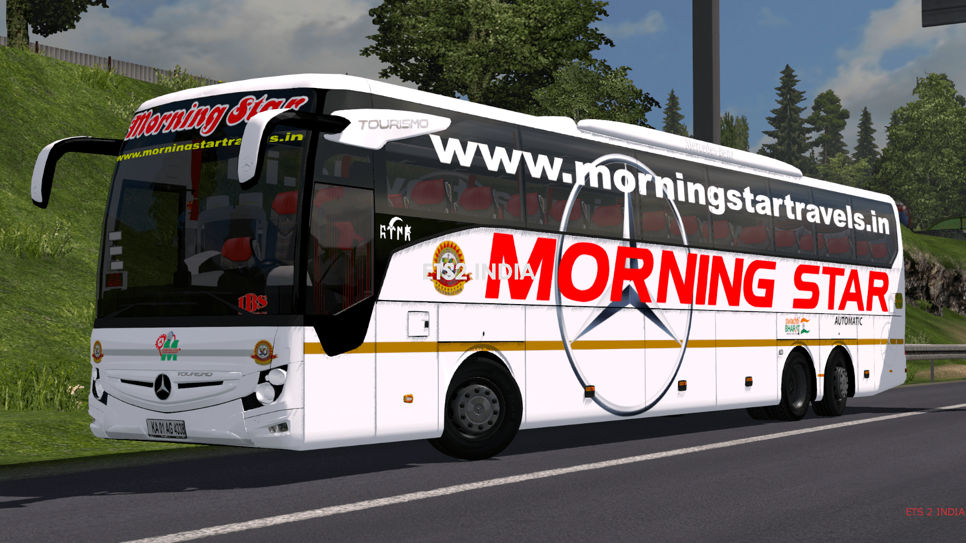 MERCEDES BUS INDIAN SKINPACK