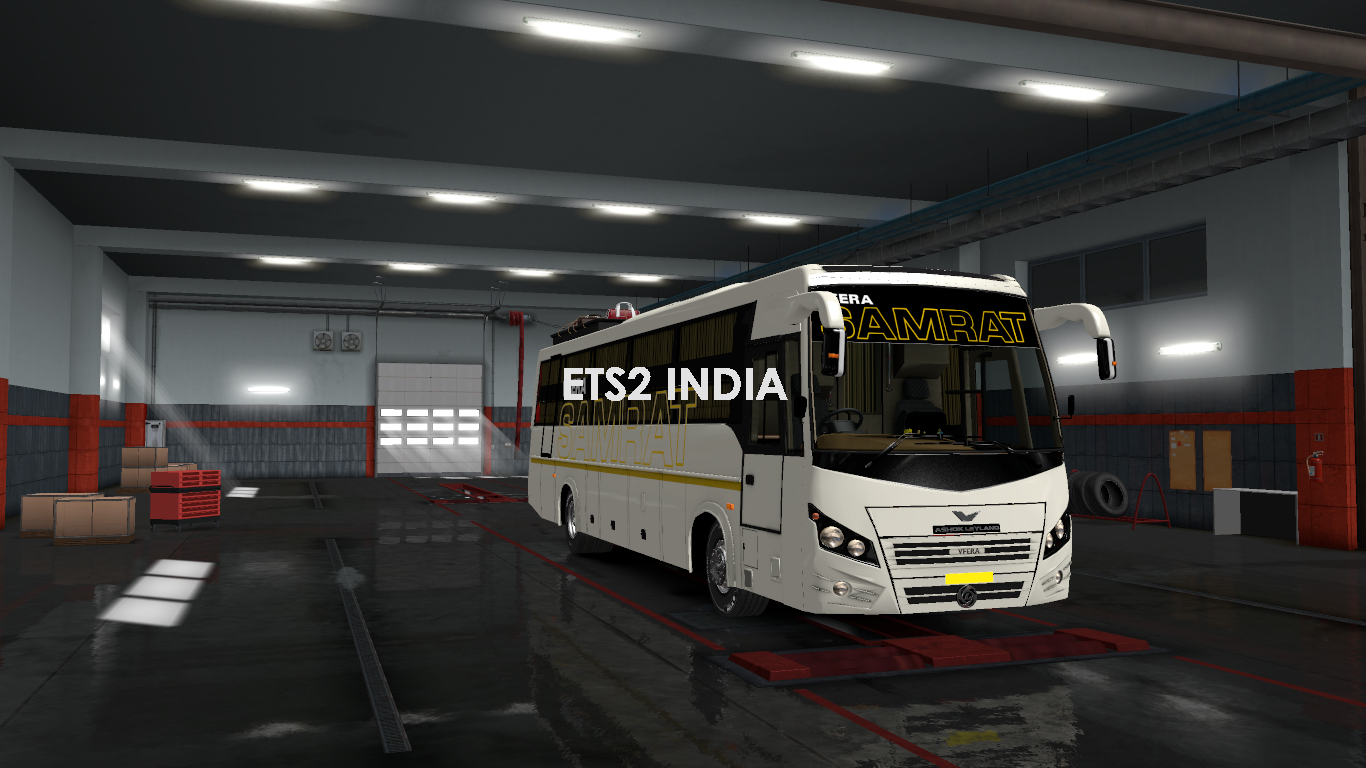 Veera V7 Sleeper  [DCT Garage  Paid Mod]